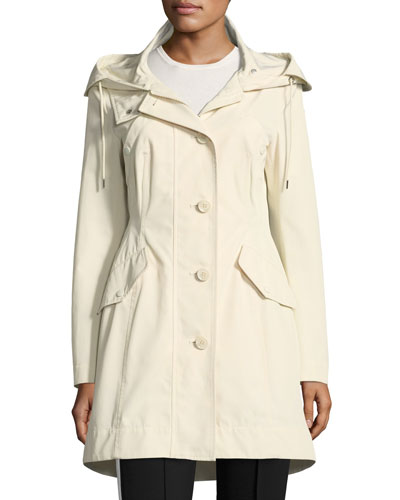 Audrey Long Utility Coat w/ Hood