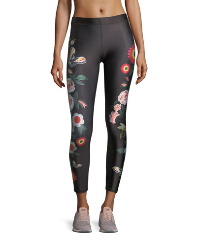 Floral Juju Performance Leggings