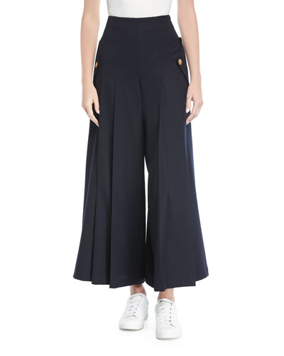 Sera Culotte Wool Pants