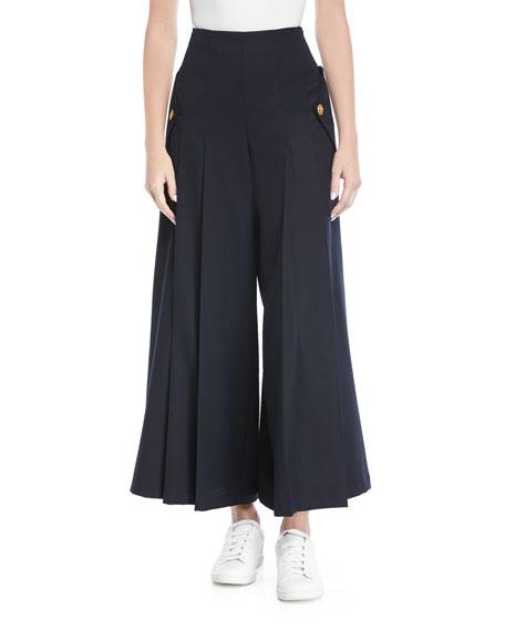 Sera Culotte Wool Pants