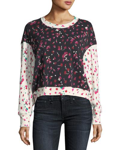 Caleigh Mi Amor Crewneck Pullover Sweatshirt