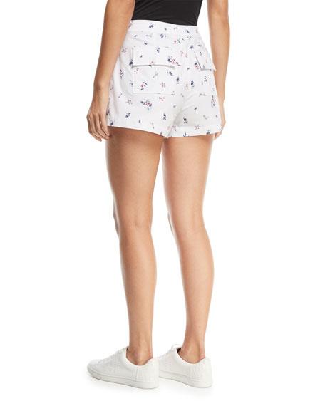 Anci Floral-Print Shorts