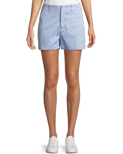Brusha Flat-Front Shorts