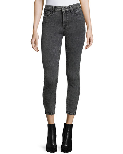 Hoxton High-Rise Skinny-Leg Crop Jeans
