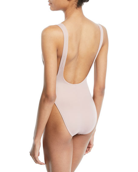 Marissa High-Cut One-Piece Swimsuit