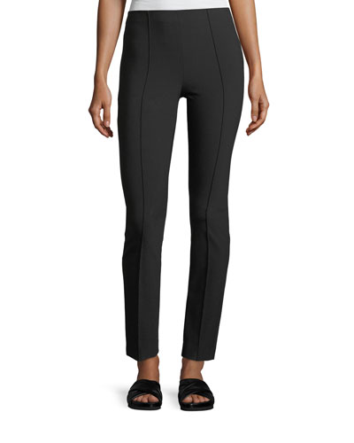 High-Rise Stitch-Front Leggings