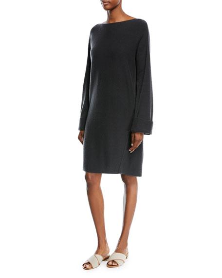 Wool-Cashmere Twisted Seam Dress