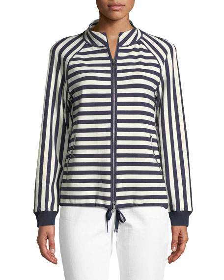 Lafayette 148  ALLISON BEDFORD STRIPE JACKET