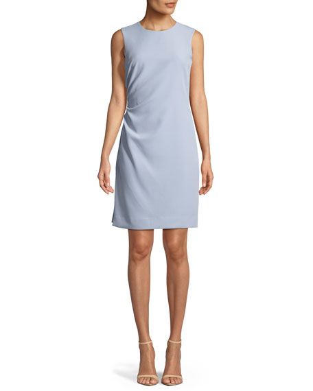 Image 1 of 1: Sherry Sleeveless Ruched Mini Dress
