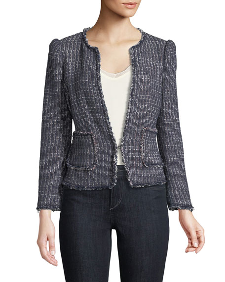 Multi-Tweed Jacket