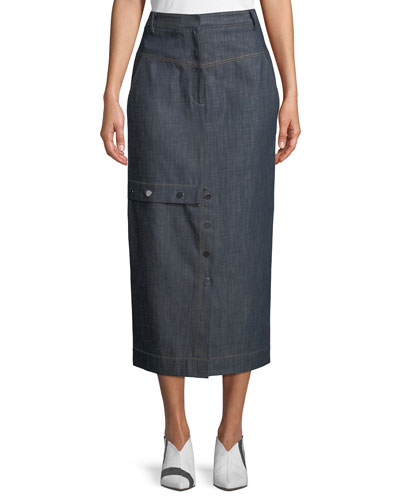 Jamie Straight Jeans Long Skirt