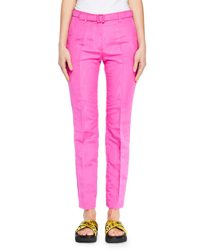 Moire Ankle Pants