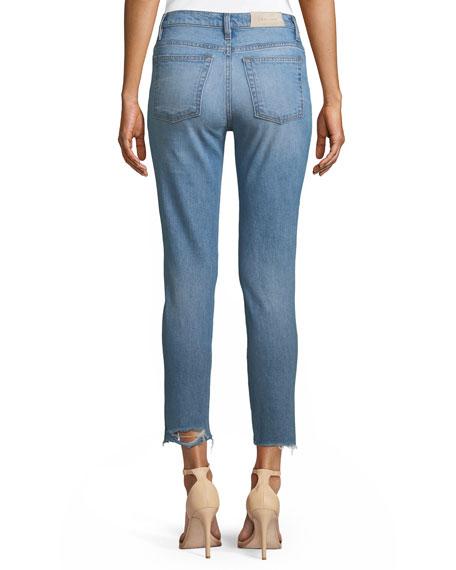 Genn Distressed Cropped Skinny Jeans