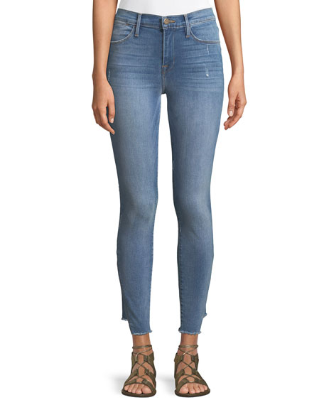 Le High Skinny Jeans with Gusset Step