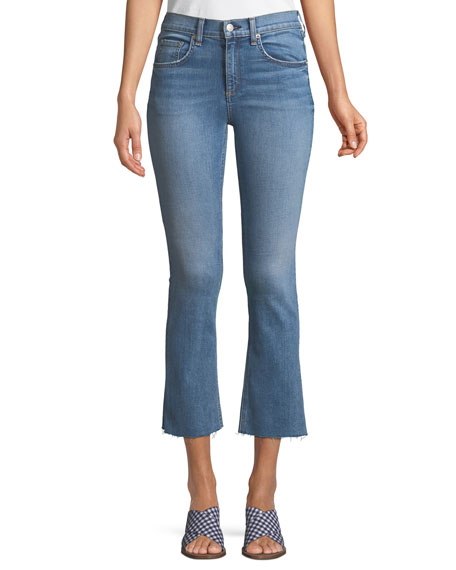 Image 1 of 1: Hana Flared Ankle Jeans