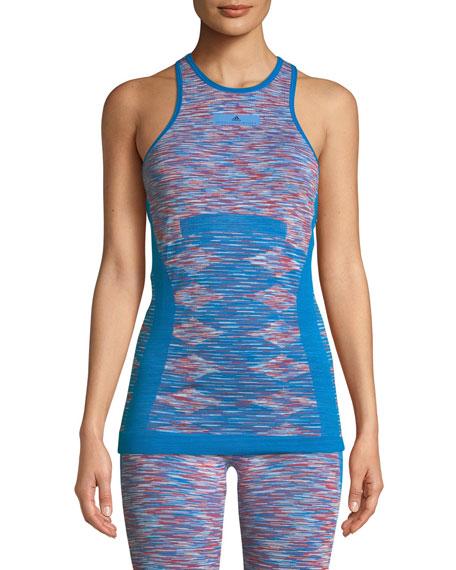 adidas by Stella McCartney Seamless Racerback Yoga Tank