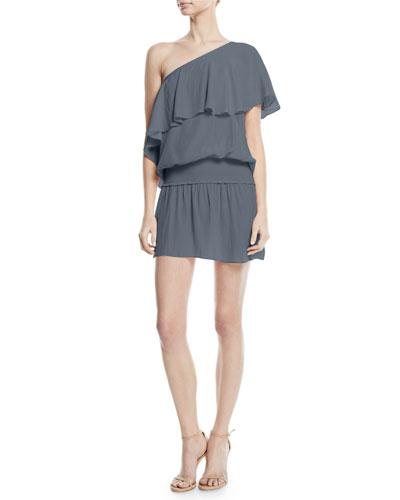 Emilia One-Shoulder Short Dress