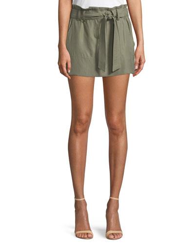Eloise Twill Mini Skirt