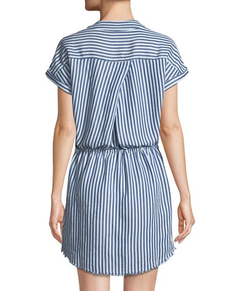 Haidee V-Neck Striped Dress