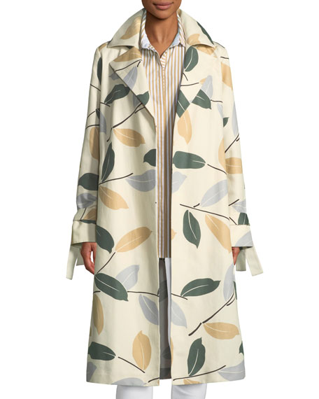 Rayna Inspired Laurel Cotton Trench Coat