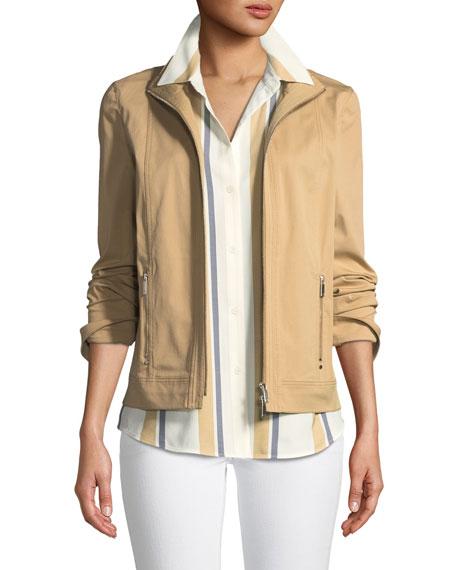 Weston Italian Gabardine Jacket, Birch