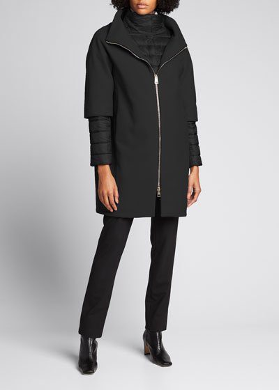 Top Coat w/ Padded Underlay & Zip-Out Sleeves