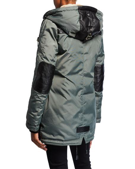 Melrose Puffer Coat w/ Detachable Fur Trim