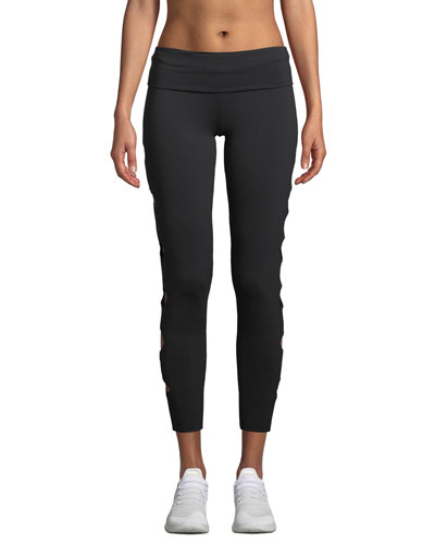 Cutout Jersey Activewear Leggings