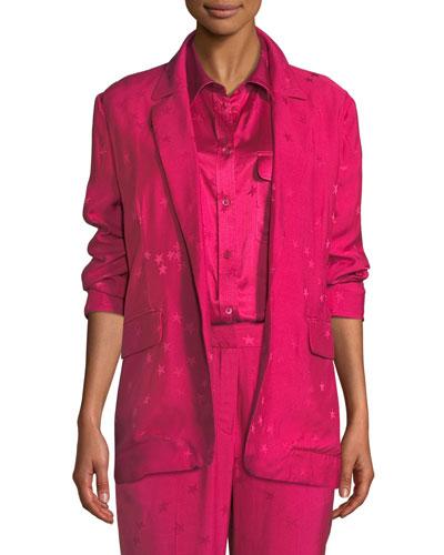 Hampton Star-Print Jacket