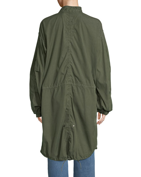 Vintage One-of-a-Kind Fishtail Parka Jacket