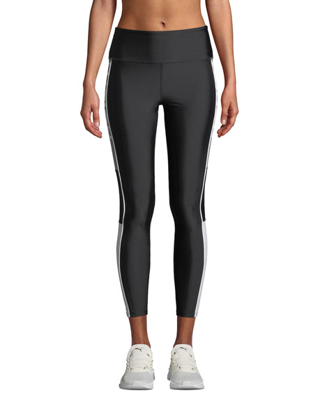 PE Nation Element High-Rise 7/8 Leggings with Colorblock