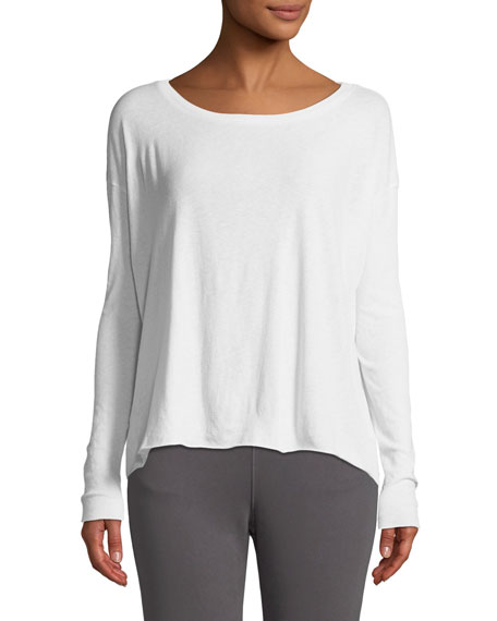 Core Cotton Long-Sleeve Tee