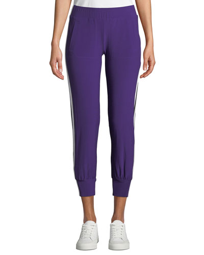 Side-Stripe Jogger Track Pants