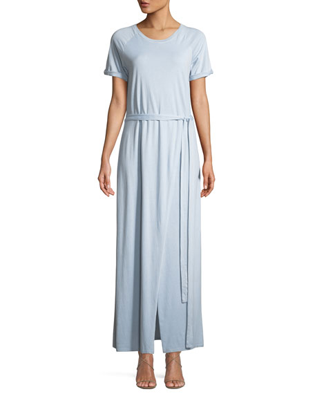 Image 1 of 1: Welles Pigment-Dyed Midi Tee Dress