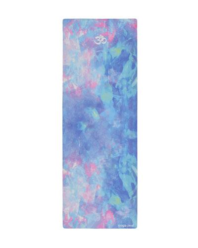 Blue Opal Printed Yoga Mat