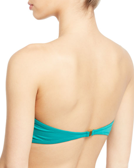 Elsie Solid Bandeau Bikini Top