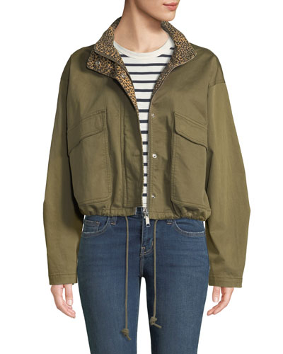 The Cropped Infantry Utility Jacket