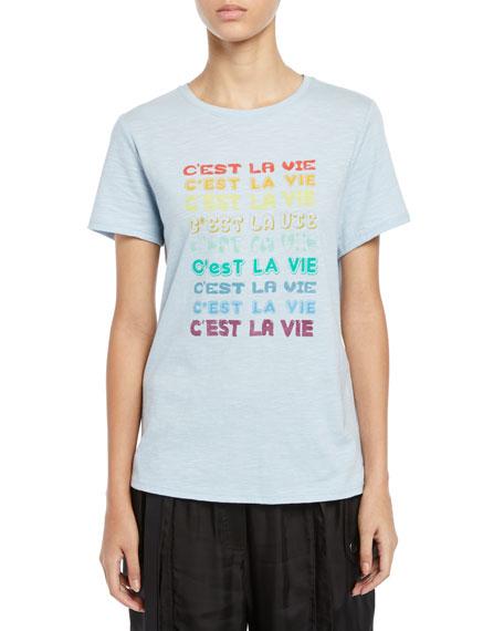 C'est La Vie Short-Sleeve Graphic Tee
