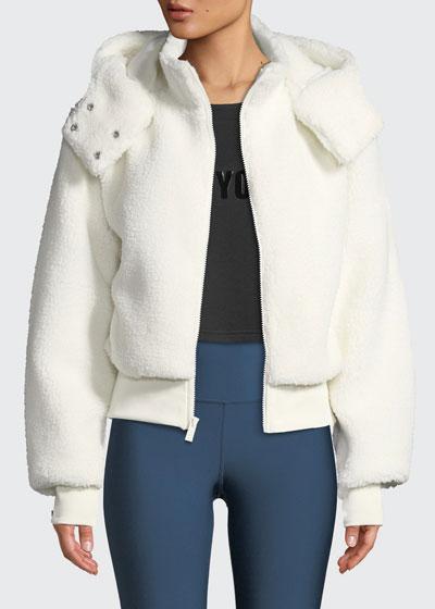Foxy Sherpa Hooded Active Jacket