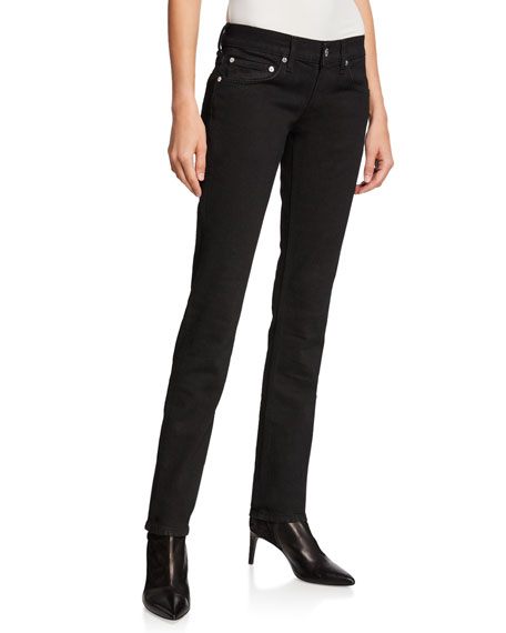 Femme Lo High-Waist Split Cigarette Pants
