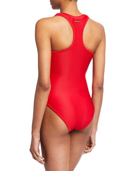 Puglia Binding Racerback One-Piece Swimsuit