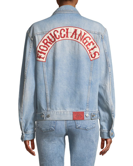 Fiorucci Nico Oversized Denim Trucker Jacket