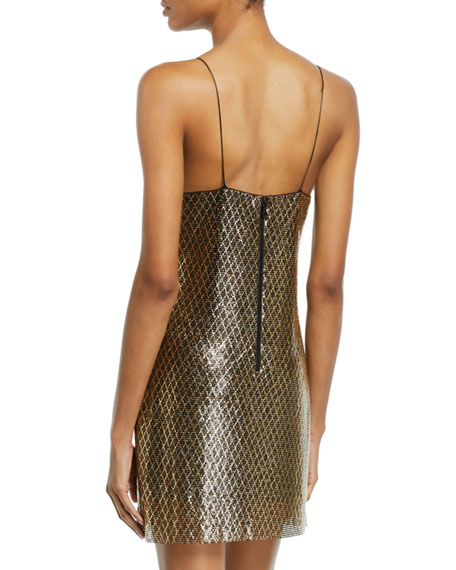 Harmony Chainmail Mini Slip Dress
