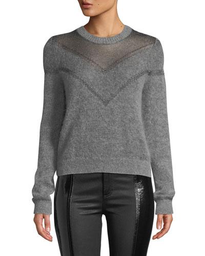 Blaze Crewneck Pullover Sweater