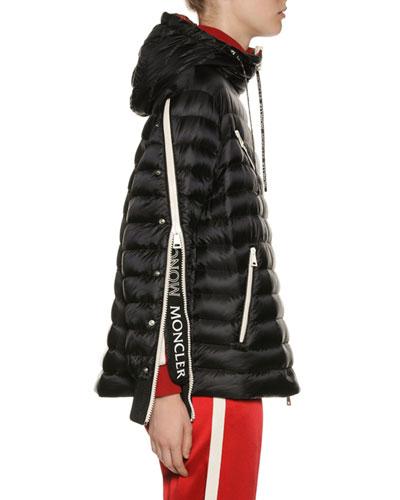 Stockholm Zip-Sleeve Puffer Jacket
