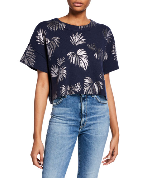 Amal Pullover Cropped Top