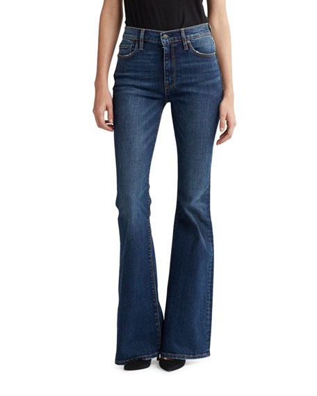 Image 1 of 1: Holly High-Rise Flare Jeans