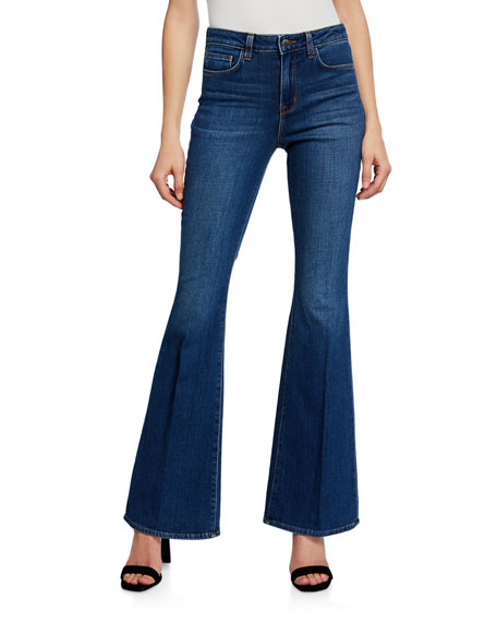 L'agence Jeans BELL HIGH-RISE FLARE JEANS