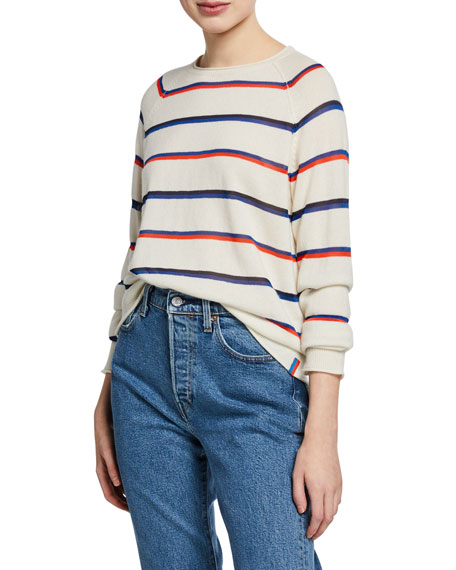 Image 1 of 1: The Penny Striped Pullover Sweater