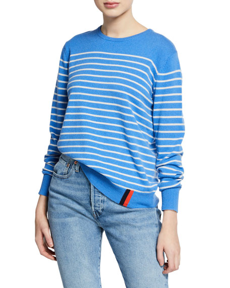 Image 1 of 1: The Sophie Striped Cashmere Sweater